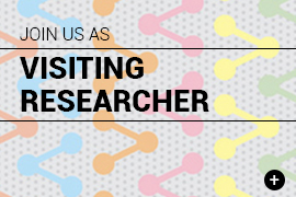 Join us as visiting researcher
