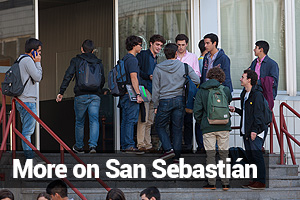 More on San Sebastián. University of Navarra for Internationalization