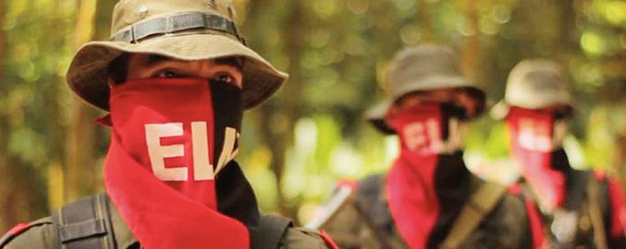 Members of Colombia's National Liberation Army  [Voces de Colombia]