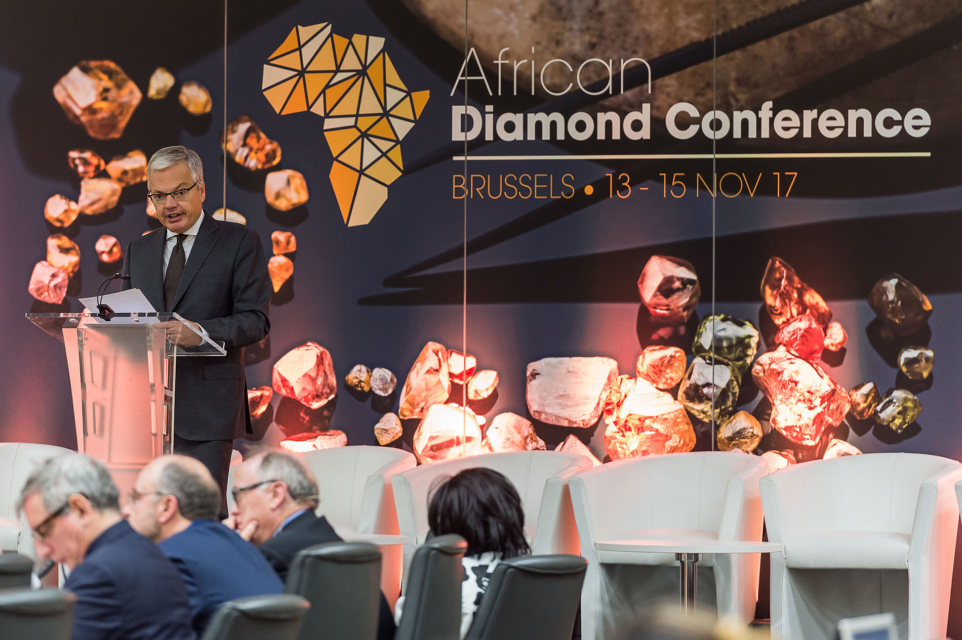 The 2017 African Diamond Conference organized by the Antwerp Diamond World Centre [ADWC]