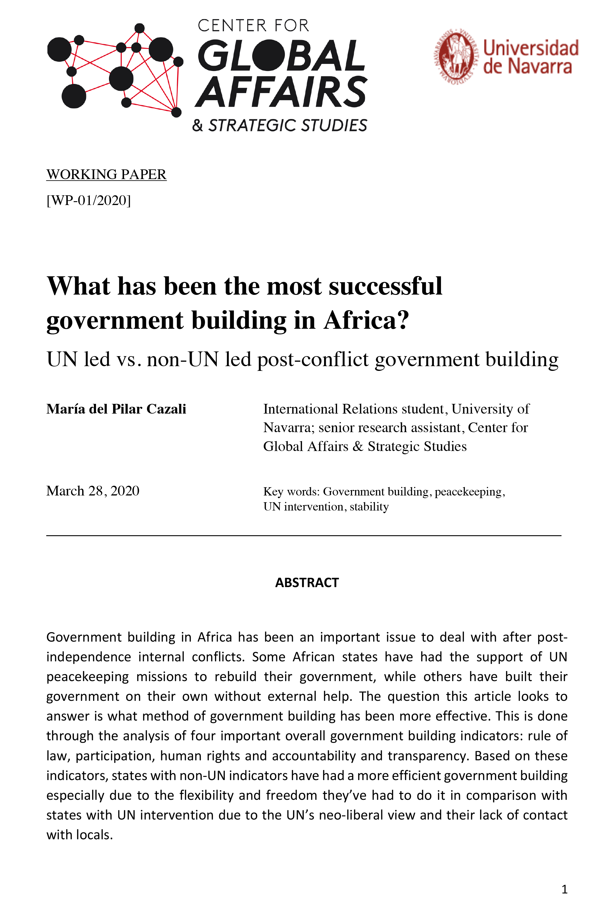 What has been the most successful government building in Africa?