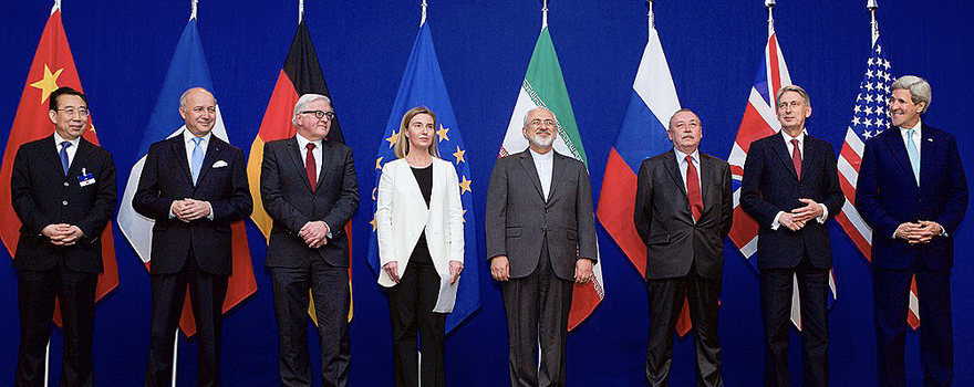 Representatives from the P5+1 countries in 2015, weeks before reaching the JCPOA, the nuclear agreement [US State Department]