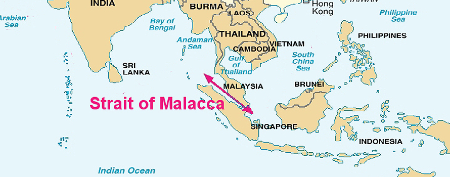 China And India Fight For The Gates Of The Strait Of Malacca