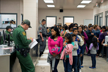Record of unaccompanied children on the US border