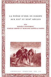 Batihoja 49. La poésie d'exil en Europe aux XVIe et XVIIe siècles