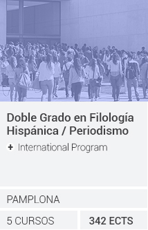 Doble Grado en Filología Hispánica / Periodismo (+ International Program)