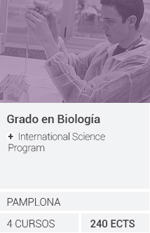 Grado en Biología + International Science Program