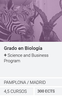 Grado en Biología + Science and Business Program