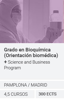 Grado en Bioquímica + Science and Business Program
