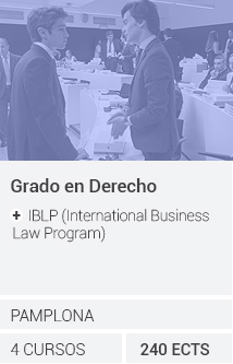 Grado en Derecho + IBLP (International Business Law Program)