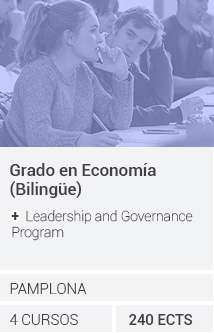 Grado en Economía (Bilingüe) + Leadership and Governance Program