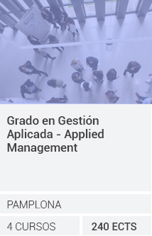 Grado en Gestión Aplicada-Applied Management