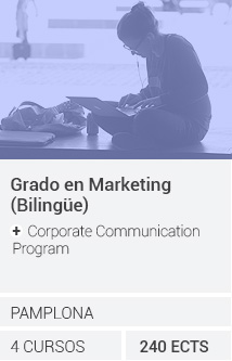 Grado en Marketing (Bilingüe) + Corporate Communication Program
