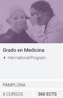 Grado en Medicina + International Program