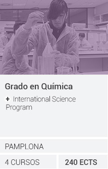 Grado en Química + International Science Program