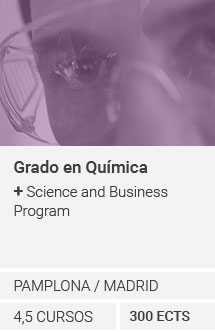 Grado en Química + Science and Business Program