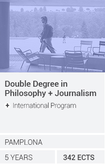 Doble Grado en Filosofía / Periodismo (+International Program)