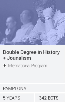 Doble Grado en Historia / Periodismo (+ International Program)