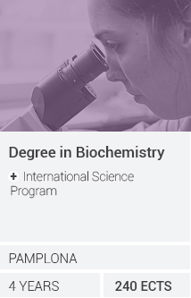 Grado en Bioquímica (Orientación biomédica) + International Science Program