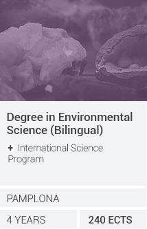 Grado en Ciencias Ambientales (bilingüe) + International Science Program
