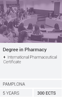 Grado en Farmacia + International Pharmaceutical Certificate