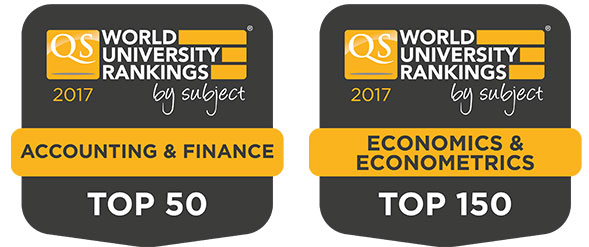 QS World University Ranking by Subject 2017