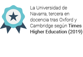 La Universidad de Navarra, tercera en docencia tras Oxford y Cambridge según Times Higher Education (2019)