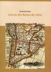 Volumen 6. Letras del Reino de Chile