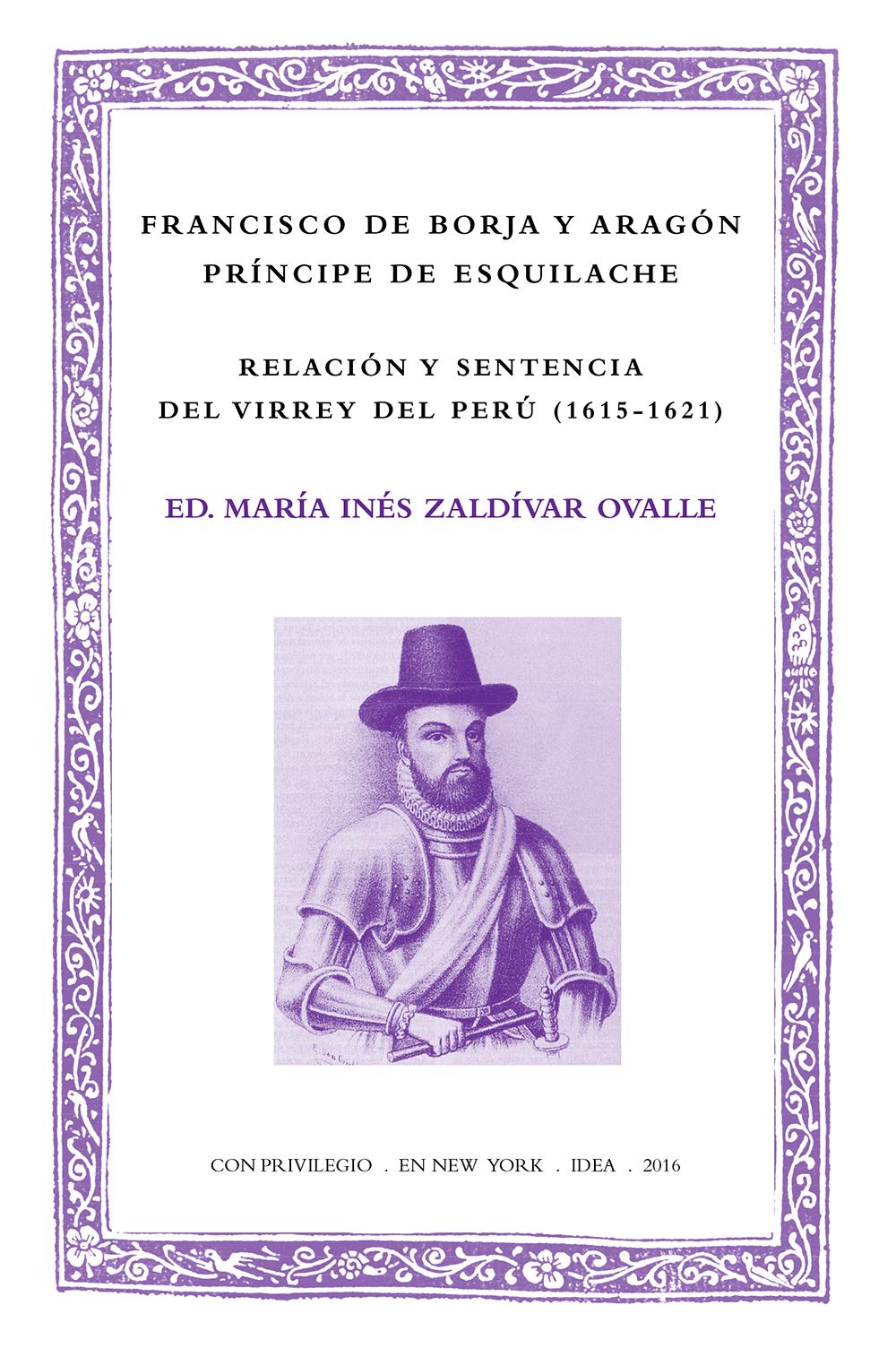 Batihoja 31. Relación y sentencia del virrey del Perú (1615-1621)
