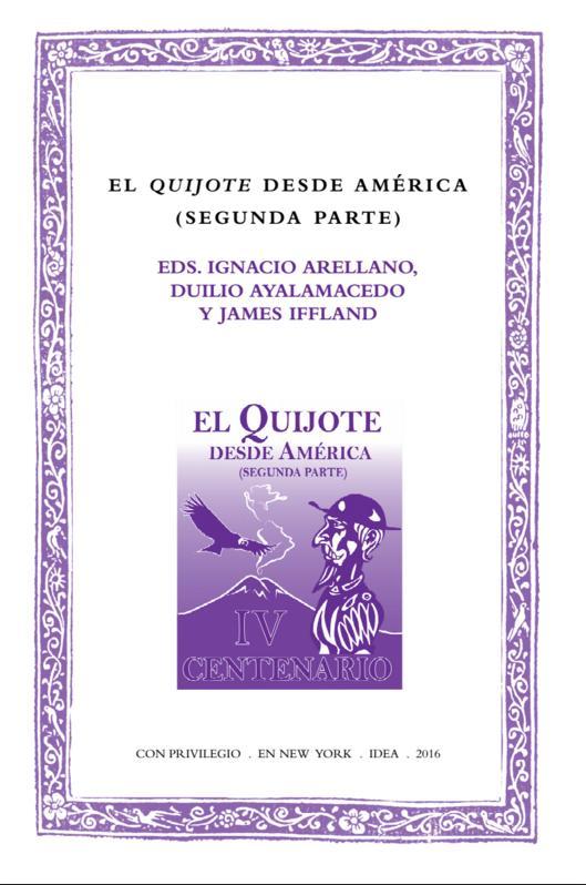 Batihoja 24. El Quijote desde América