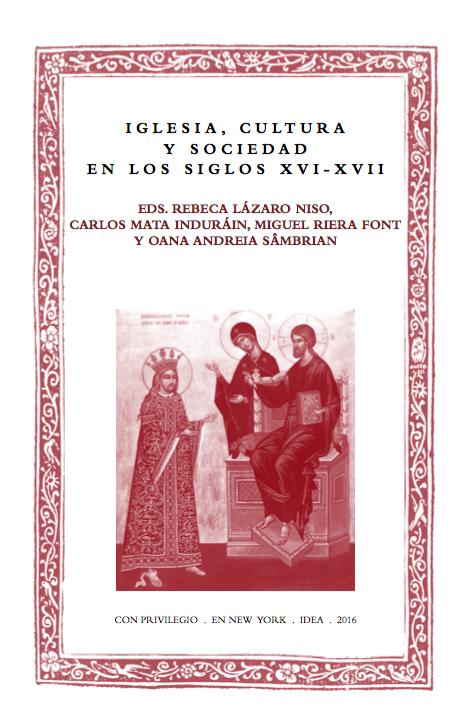 Batihoja 30. Iglesia, cultura y sociedad en los siglos XVI-XVII