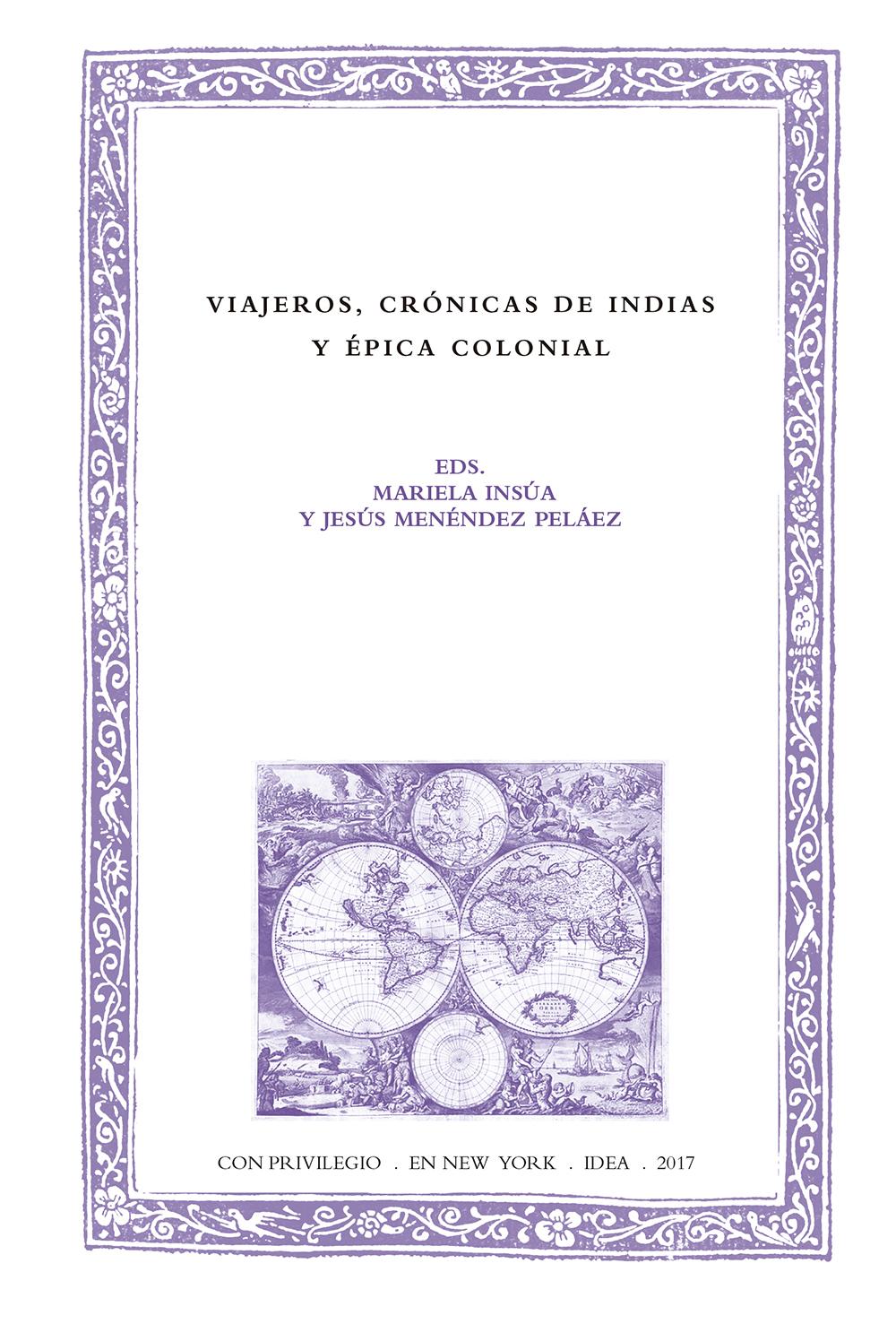 Batihoja 40. Viajeros, crónicas de Indias y épica colonial