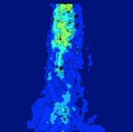 Instantaneous velocity field