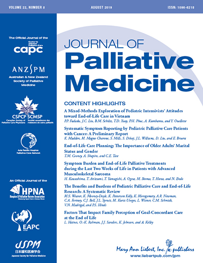 Journal of Palliative Medicine