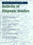 Bulletin of Hispanic Studies