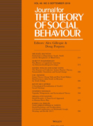 The Theory of Social Behavior