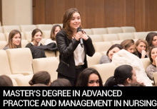 Master's Degree in Advanced Practice and Management in Nursing