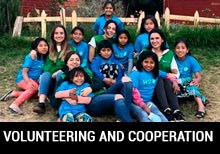 Volunteering and cooperation