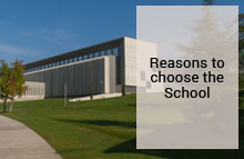 Reasons to choose the School