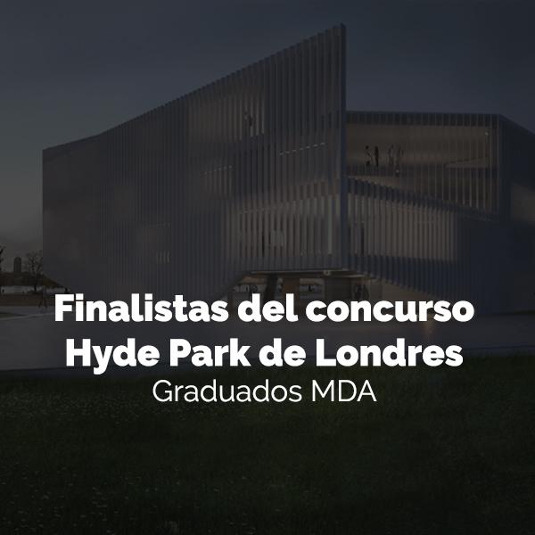 Concurso de ideas para un pabellón en Hyde Park de Londres