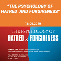 """The Psychology of Hatred and Forgiveness"""
