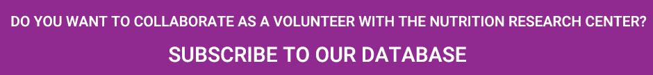 Do you want to collaborate as volunteer with the Nutrition Research Centre?