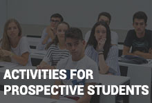 Activities for prospective students