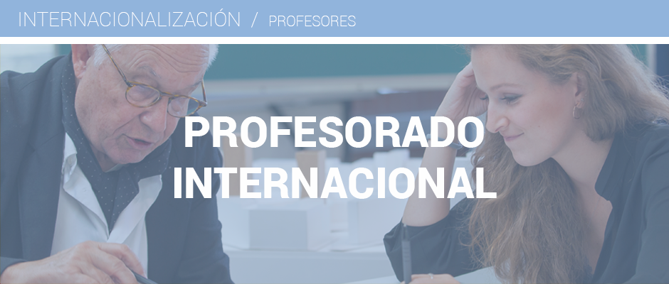 Profesorado internacional. Horizonte 2020. Universidad de Navarra 3db1e8075984