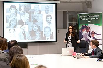 Imagen del MCPC. Charla-coloquio a los alumnos del Master de Comunicación Política y Corporativa