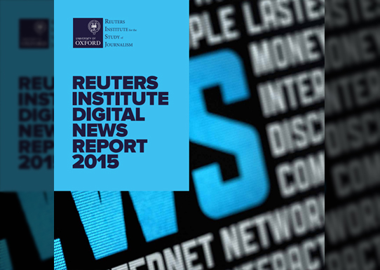 Investigadores del Center for Internet Studies and Digital Life editan el informe DigitalNewsReport.es 2015