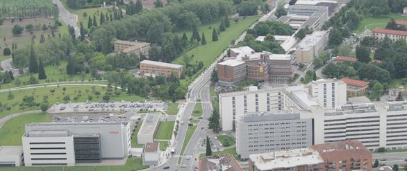 Campus Médico: Facultad, Clínica Universidad de Navarra y centro de investigación CIMA
